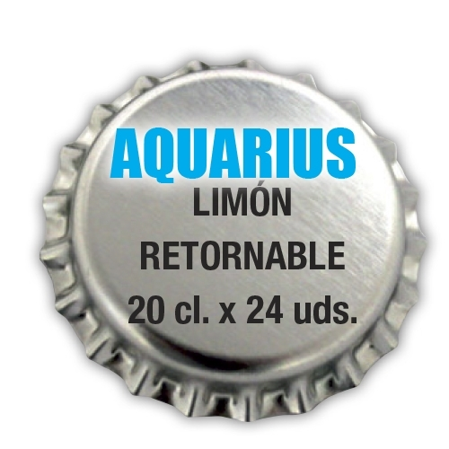 Aquarius Limón Retornable
