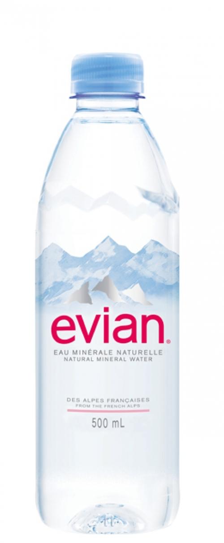 Evian 0,50l
