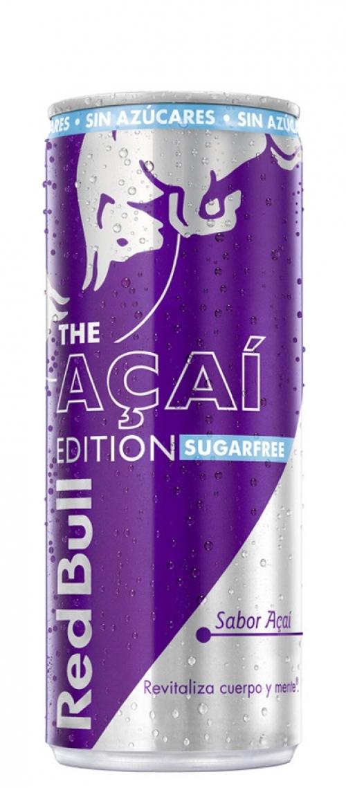 Red Bull Acai Sugar Free. 250ml