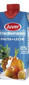Meditarráneo fruta + leche