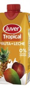 Tropical fruta + leche