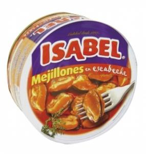 Mejillones escabeche ISABEL