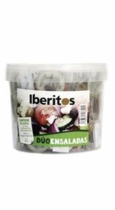 Cubo monodosis ensalada  IBERITOS