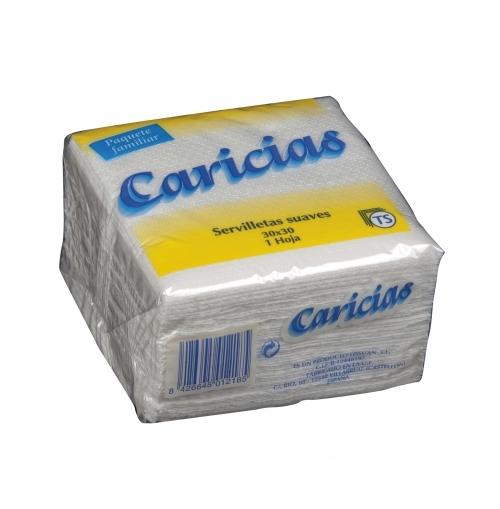 Servilletas Caricias 30x30 cm