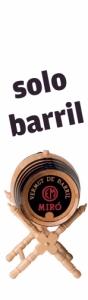Barril 8 l. Miro (Solo envase)