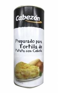 Preparado de tortilla