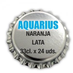 Aquarius Naranja. Lata 33cl