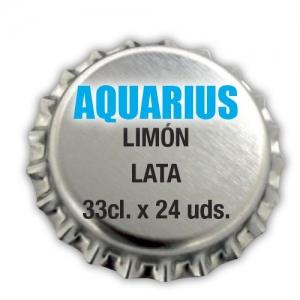 Aquarius Limón. Lata 33cl