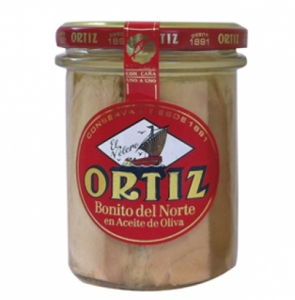 Tarro bonito aceite oliva