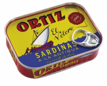 Sardinas a la antigua aceite oliva