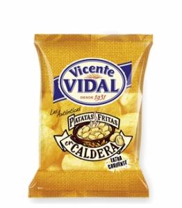 Patatas fritas a la caldera Vicente Vidal 50gr