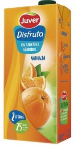 Brick Disfruta naranja 2l.