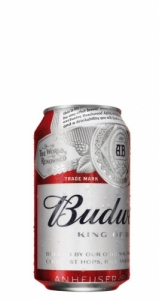 Budweiser lata 33cl