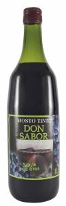 Mosto Don Sabor tinto. 1l